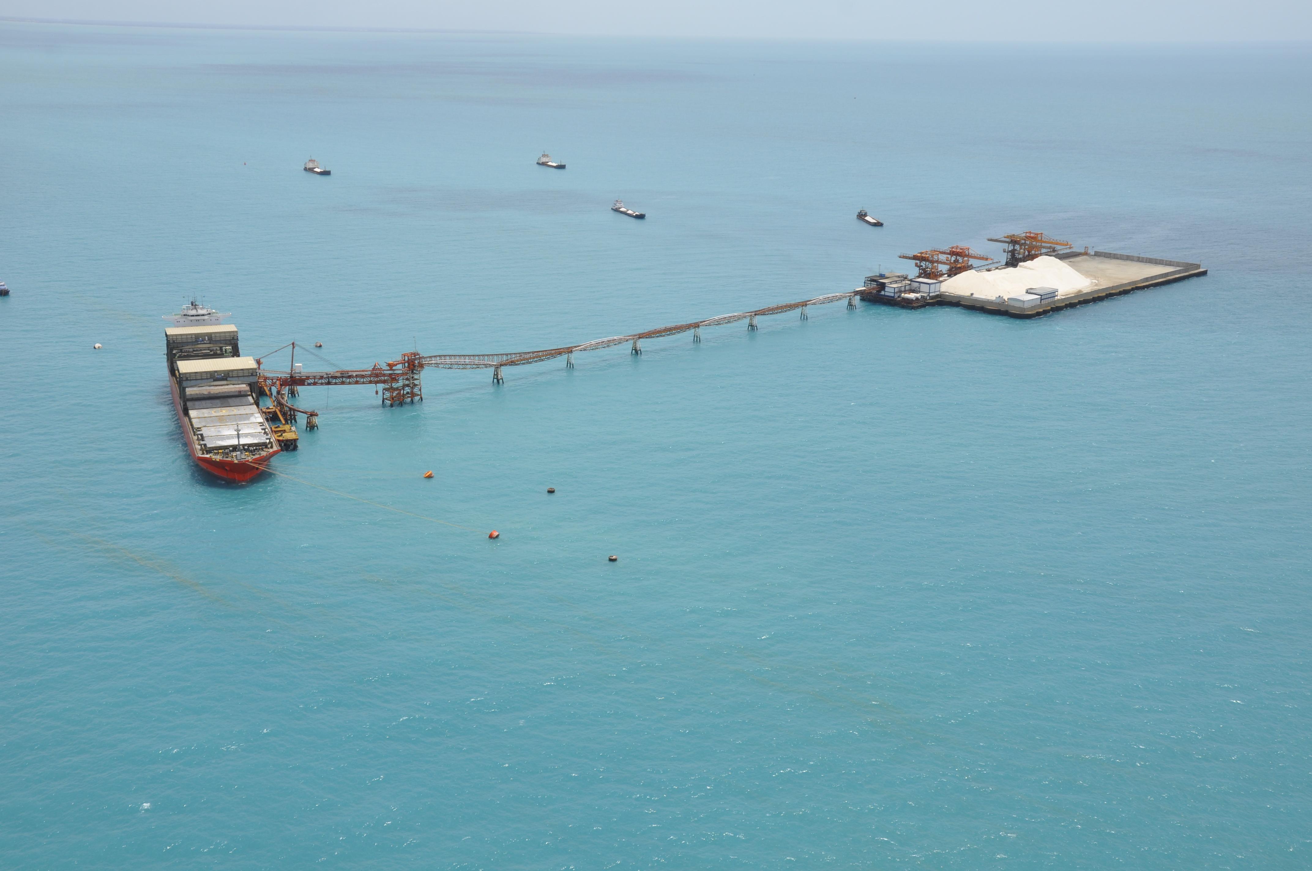 Terminal Salineiro de Areia Branca já movimentou mais de 1 milhão ...